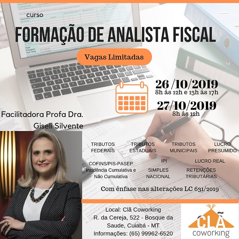 FORMAÇÃO DE ANALISTA FISCAL