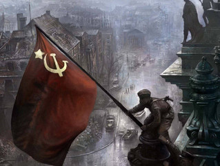30 апреля 1945 года над поверженным Рейхстагом зареяло Знамя Победы! #ЭтоНашаПобеда