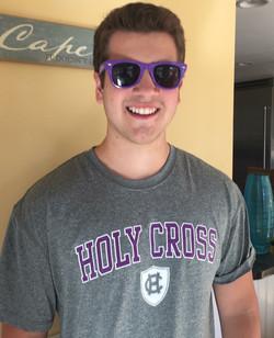Alex at Holy Cross