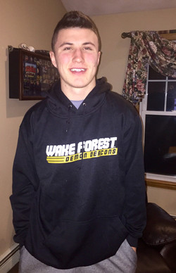 Chris at Wake Forest