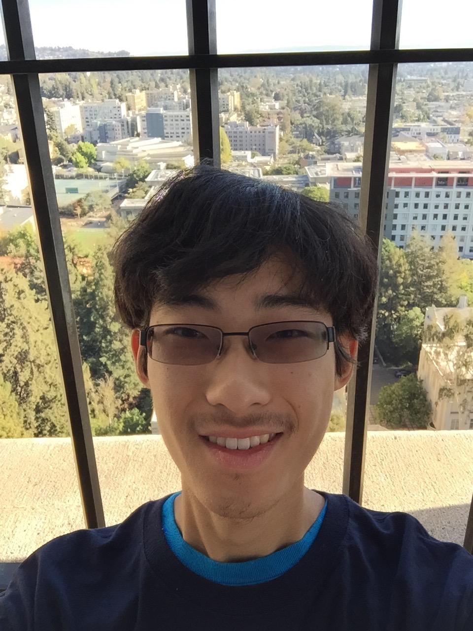 Kevin at UC Berkeley