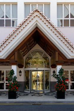 Hotelleingang