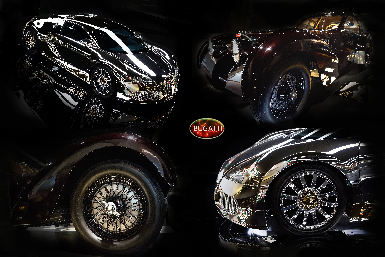 Bugatti - alt und neu
