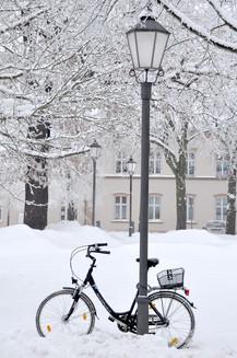 wir haben Winter