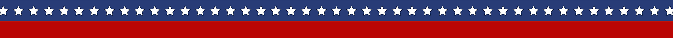 American Flag Header Design
