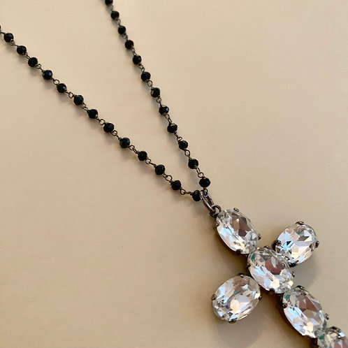 Collana art. 686 Rosario Croce Crystal