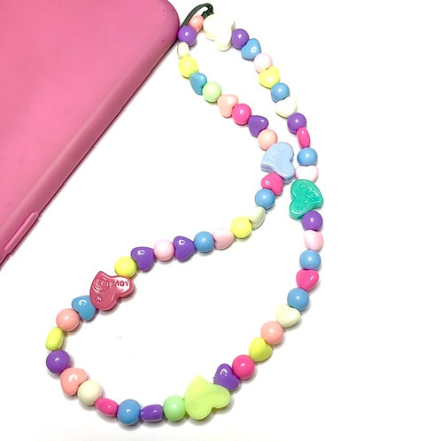 phone-strap romantic pastel