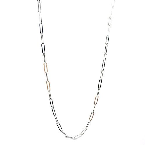 collana catena rettangolare