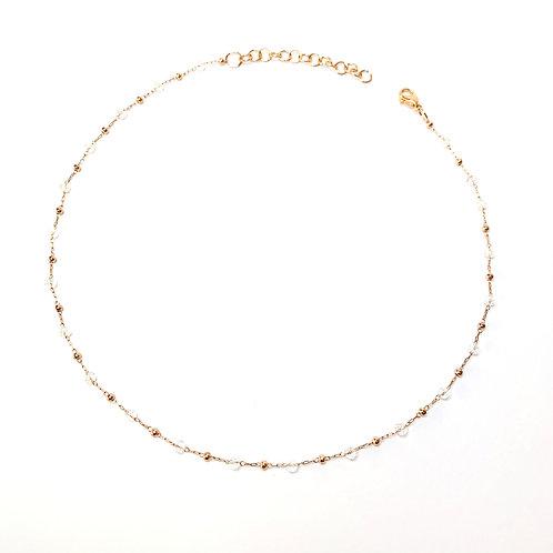 Art. 702 Girocollo rosario rosè