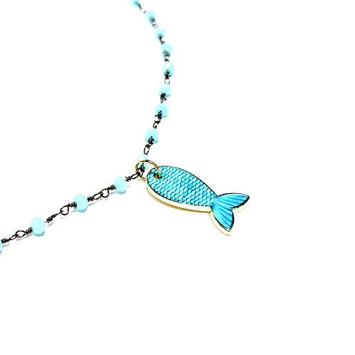 Art. 697 Girocollo pesce azzurro