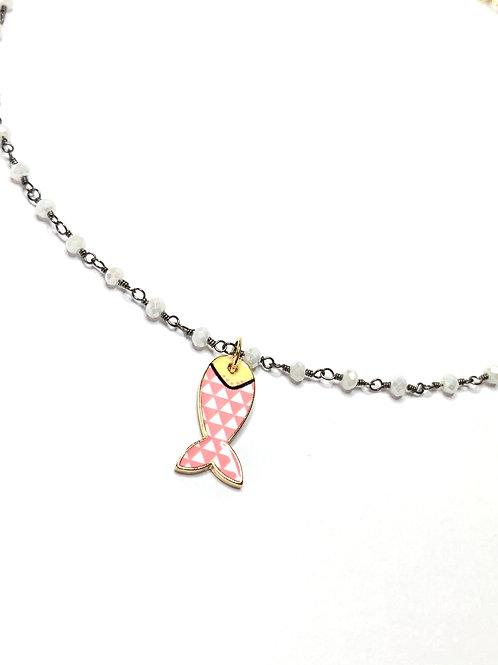 Art. 696 Girocollo pesce rosa