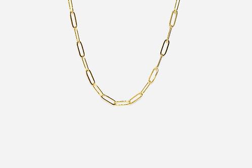 Girocolllo catena rettangolare