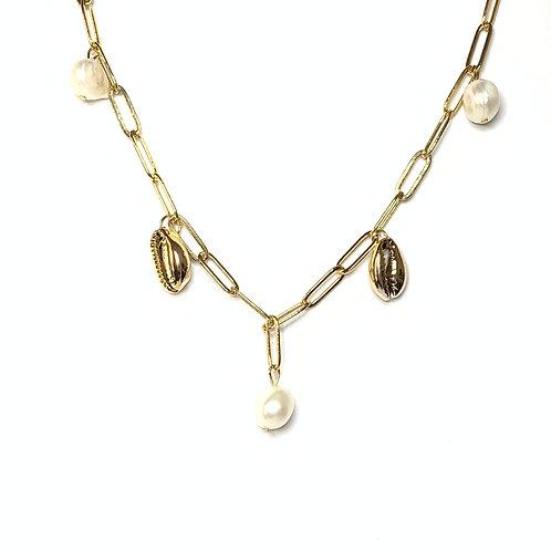 Art. 715 Girocollo catena perla
