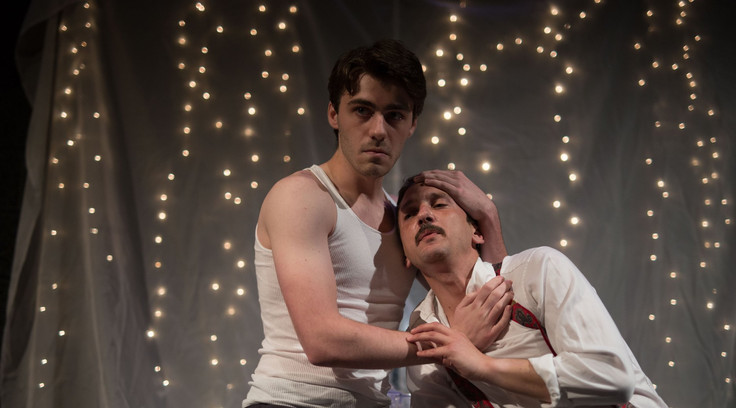 Jake as Marlon Brando in A Night of Stars with Tennessee Williams at Slipstream Theatre Initiative.