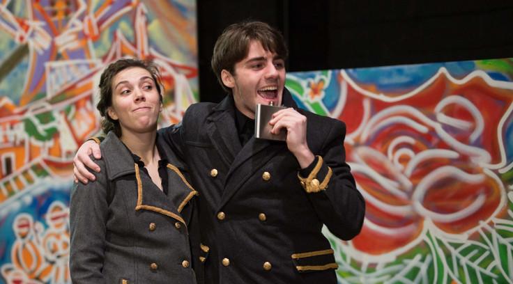 Jake as Cassio in Othello at Slipstream Theatre Initiative.