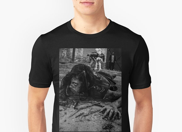 Men's Graphic T Shirt Zombie Crawling