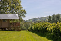 Valleyside Escapes_Oak tent_view of vall