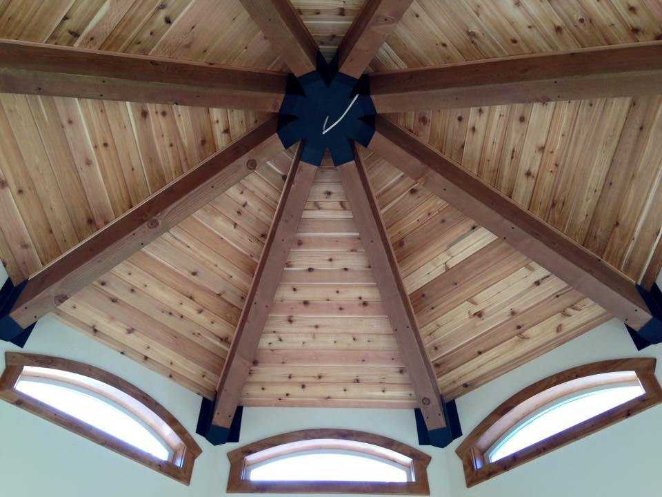 Fruitland timber ceiling