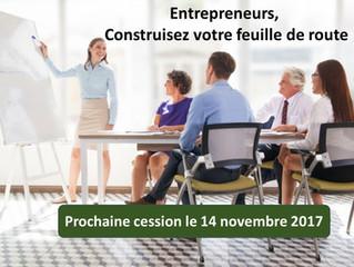 Formation : Entrepreneurs, construisez votre feuille de route