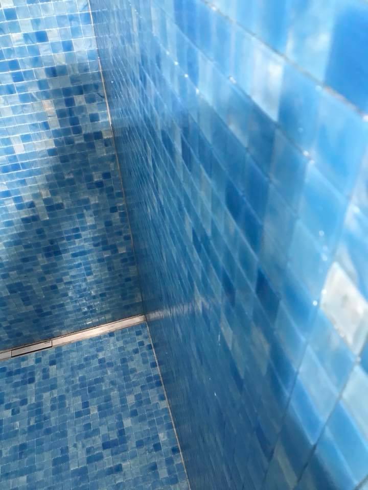 Dusche Mosaik