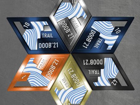 Медаль фестиваля DOOB 2021