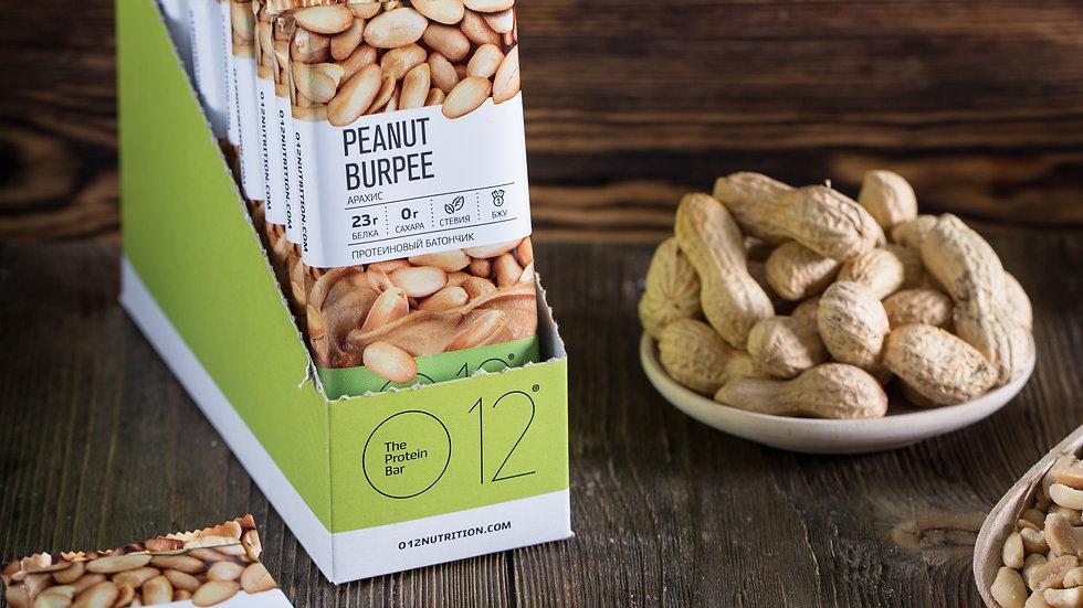 вафли протеиновые с арахисом О12 peanut burpee