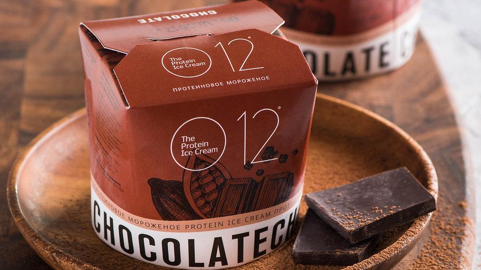 o12 протеиновое мороженое шоколадное
