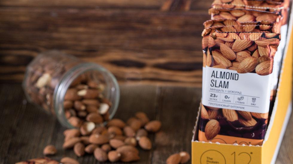 протеиновые вафли о12 миндаль almond slam