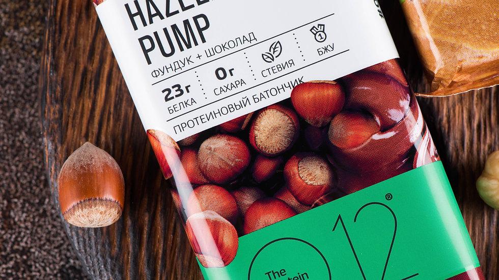 вафли протеиновые о12 фундук, huzelnut pump