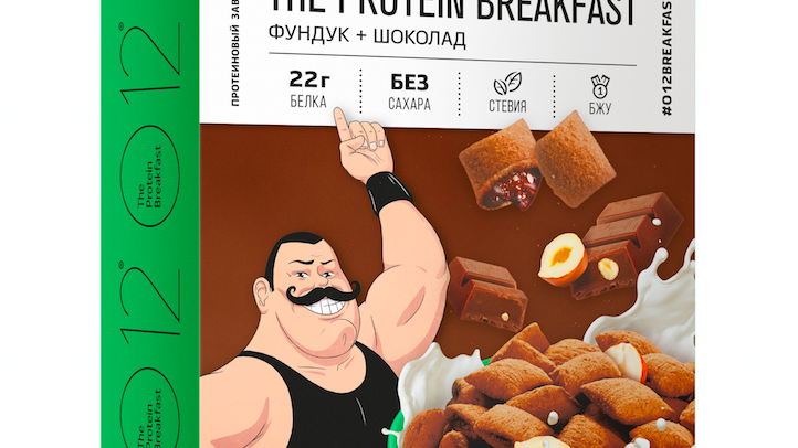 o12 протеиновые завтраки подушечки с фундуком
