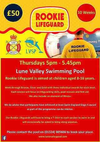 LVSP - Rookie Lifeguard Poster - 21 01 2