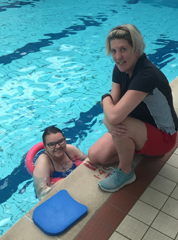 'Swimming Lessons Prove a Success Story'