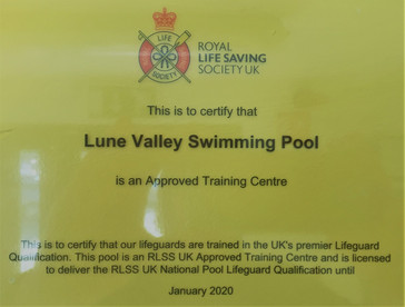 RLSS Approved Training Centre.