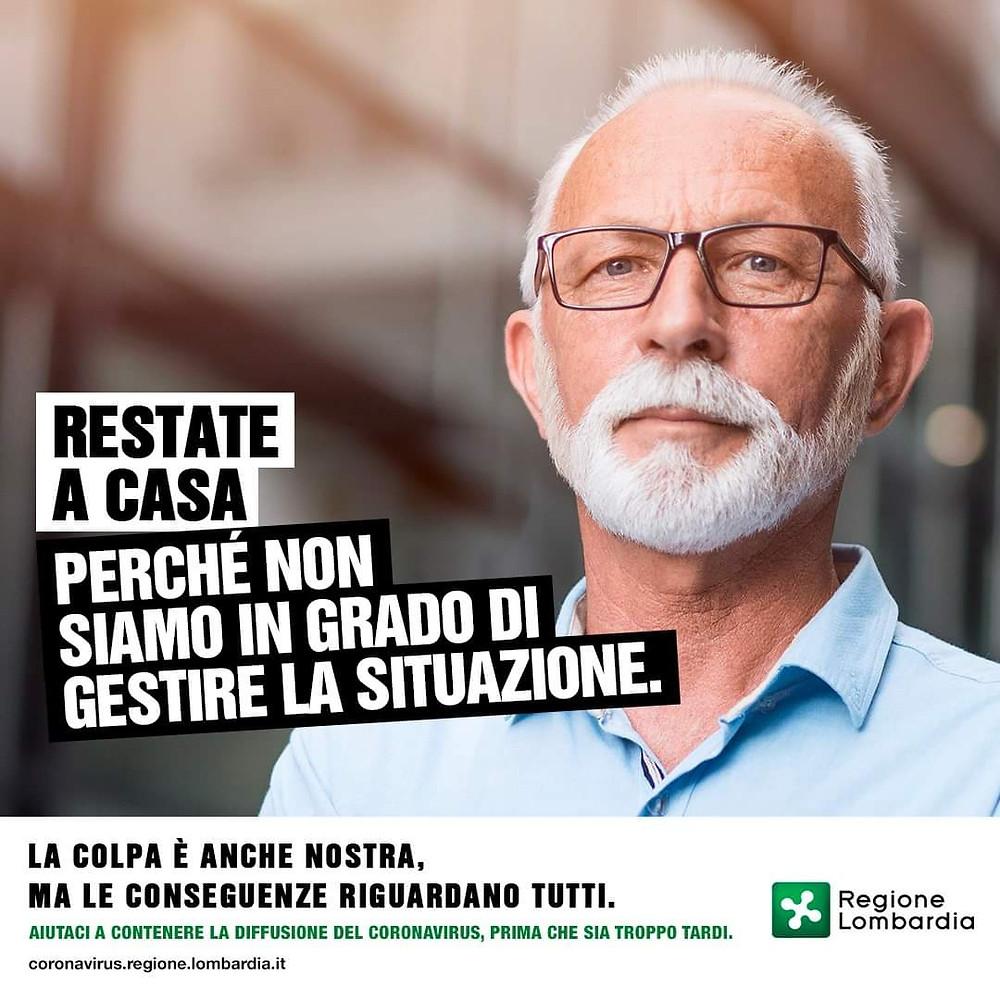 Regione Lombardia The Covid Dilemma Restate a Casa