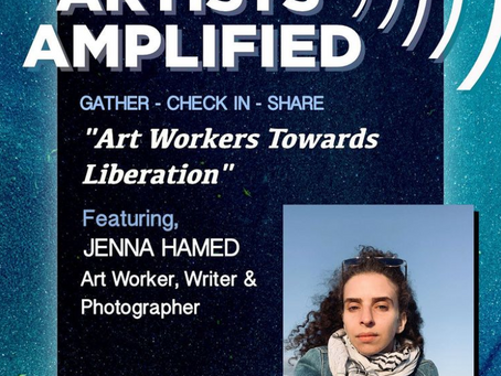 Art Workers Toward Liberation discussion with GAMA NY
