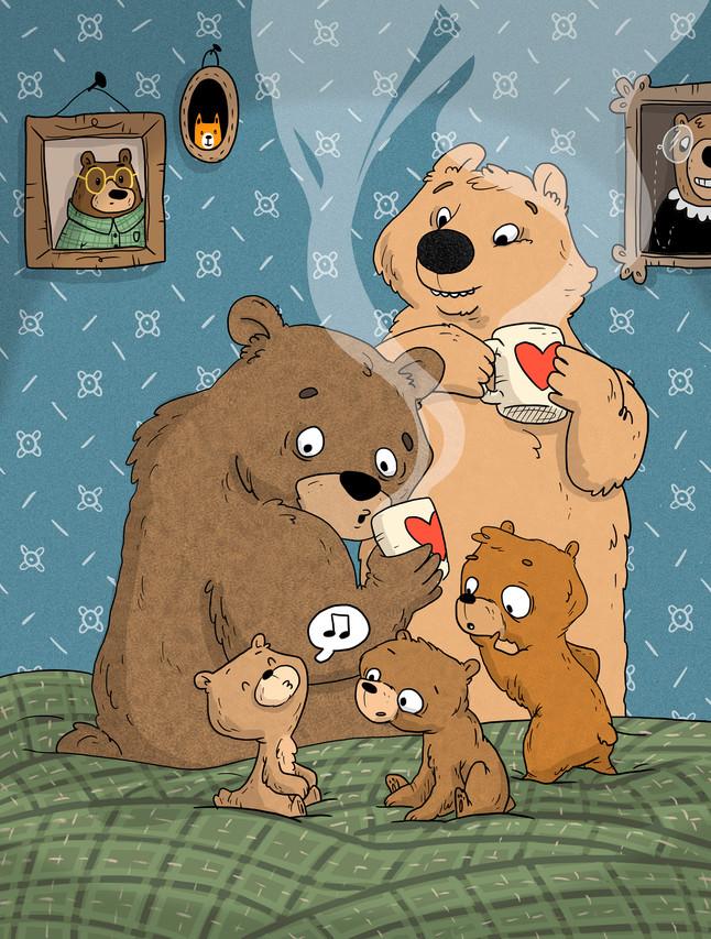 Karhu joka sanoo titityy