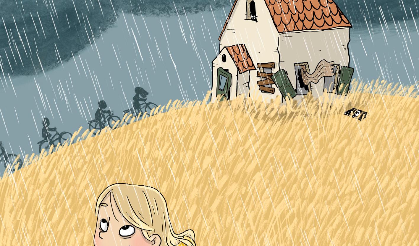 Hämäräperäinen talo