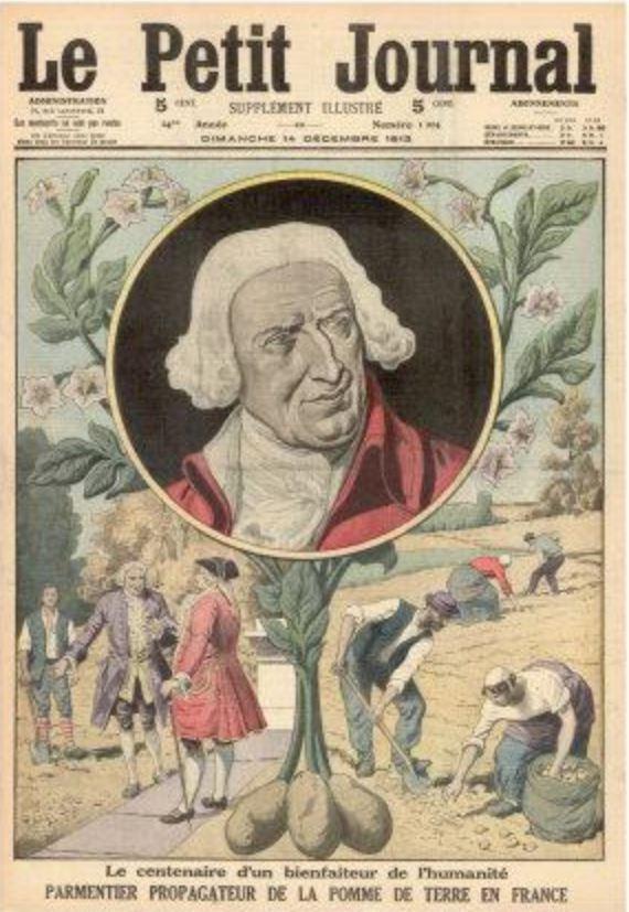 Antoine Parmentier il promotore delle patate