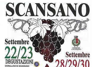 festa dell'uva 2018 Scansano - locandina