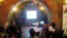 Corso di introduzione al Morellino – Festa dell'Uva 2019 – Adriano Bruni, socio AAAMorellino e Sommelier SES