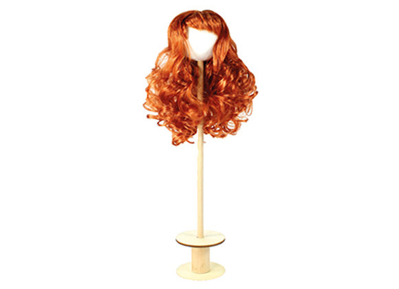 Parrucca sintetica bambole rossi