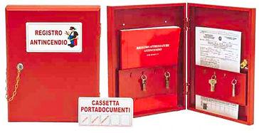 Vendita cassetta porta registro antincendio