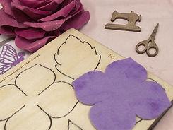 Stampi e fustelle per modellare fommy, feltro e cartoncino