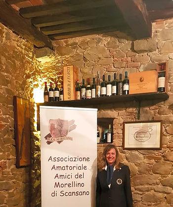 benvenuto per la Festa dell'Uva 2019 – Elisabetta Russo - Presidente AAA Morellino e Sommelier SES
