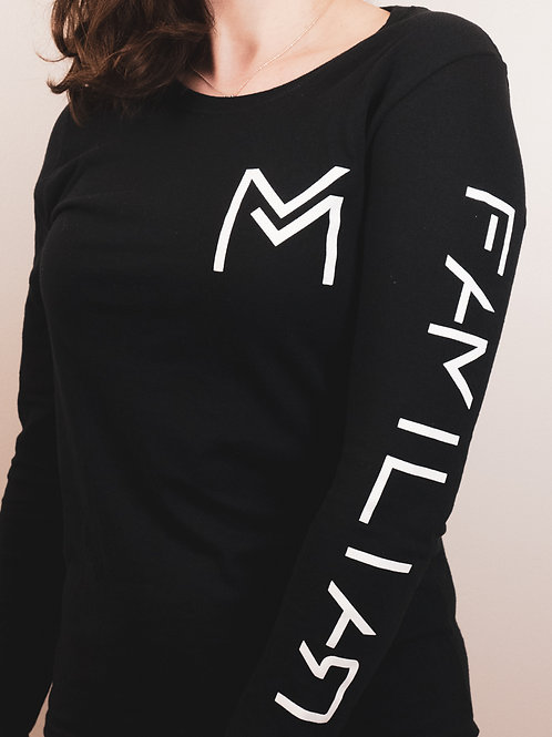 "Long Sleeve ""Familiar"" Shirts - Women"