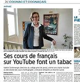 Cours de français en ligne (article SO).