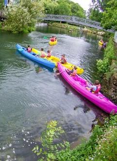 L'activité canoë-kayak