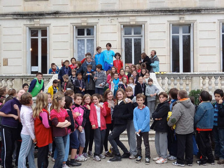 Le cross de l'ensemble scolaire
