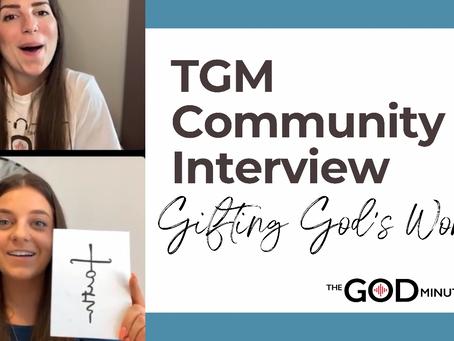 TGM Community Interview 6/5