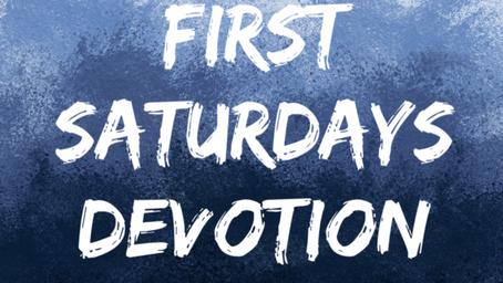 First Saturdays Devotion